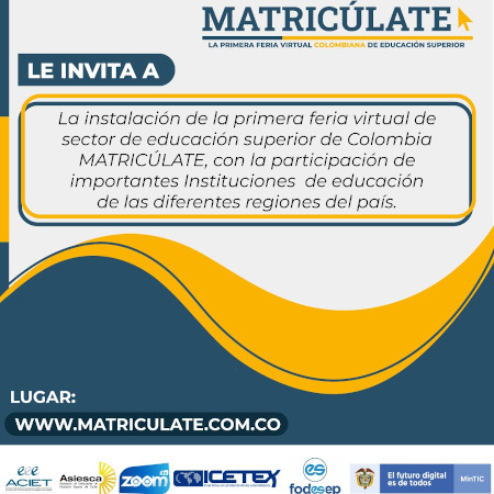 Feria Matricúlate